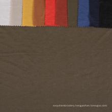 NO moq free sample wholesale Shiny textiles rayon nylon knitting viscose plain dyed like linen jersey stock fabric for garment