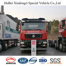 30cbm Sinotruk Sitrak Euro 4 Gasoline Oil Fuel Tanker Truck with Man Diesel Engine