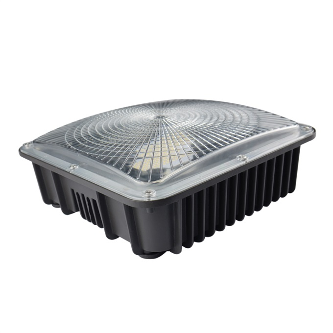 LED canopy light with photocell sensor available