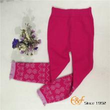 Pantalons longs tricotés chauds pour dames