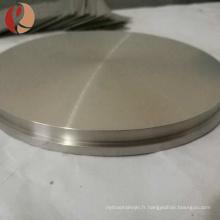 Vente chaude 4n titane alliage d'aluminium cible avec grand prix