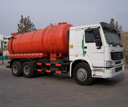 10 Roda 20 CBM Sewage Suction Truck