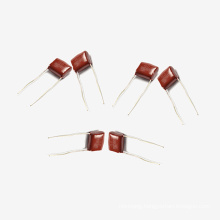 Topmay 2016 Red Cover Metallized Polyester Film Capacitor Mkt-Cl21 0.22UF +-10% 250V