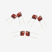 Topmay 2016 capa vermelha de poliéster metalizado Capacitor de filme Mkt-Cl21 0,22 UF + -10% 250 V