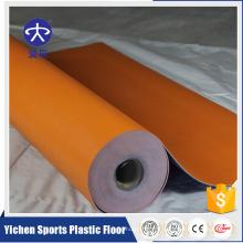 Plancher en plastique de plancher / salle de classe de PVC en plastique