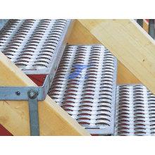Placa antideslizante para pisos con equipo profesional de la fabricación