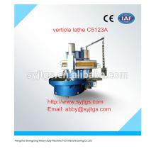 Precio de torno vertical usado C5123A en stock para la venta caliente