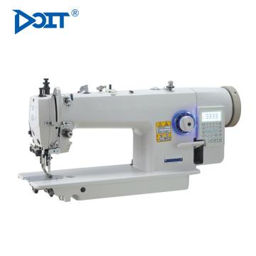 DT0313-D4 computerized walking foot single needle industrial lockstitch flat lock sewing machine price