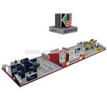 Detian Angebot große größe Super Beliebte Tragbare Spannung Stoff Fair Trade Show Display Stand Für Ausstellungsstand