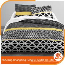 Tissu d'impression africain brossé Changxing bon marché pour textile à la maison