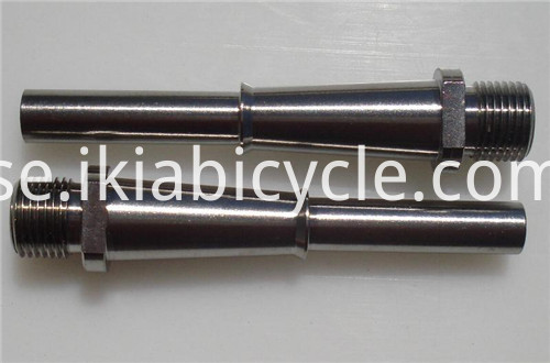 Titanium Pedal Parts Spindle
