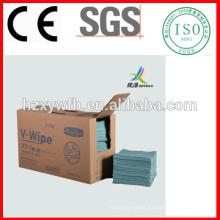 Spunlace Nonwoven Lint Free Industrial Wipe