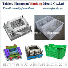 plastic partition crate injection mould&injection moulding