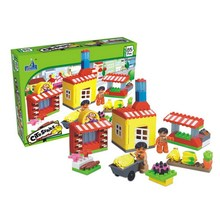 Kids Toy 85-Piece Building Blocks House