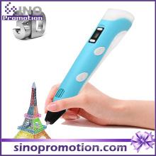 Пластмассовая ручка с высокой плотностью цвета Qulaity Intelligent 3D