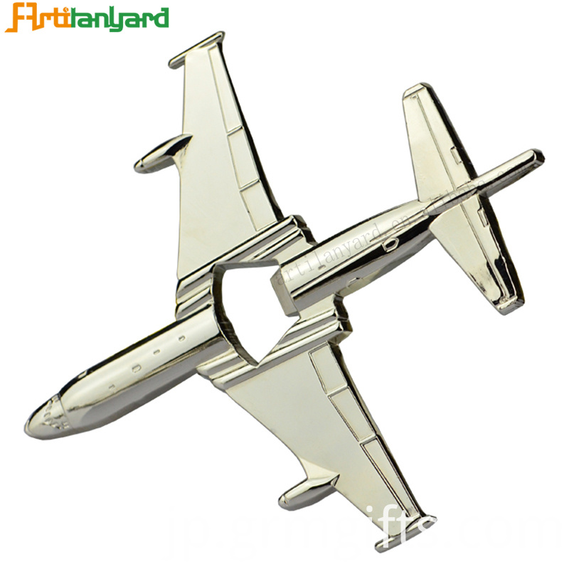 Opener With Aircraft Shape