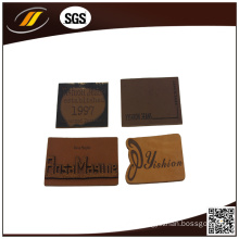 Thin Leather Label for Pants Suitcase Bags (HJL02)