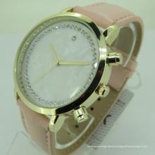 Nuevo diseño su propio reloj de cuarzo de moda unisex