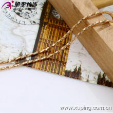 Xuping Fashion 18k Gold Color Thin Necklace (42532)