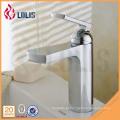 Faucet de lavatório de bacia moderna torneira de banheiro cromada