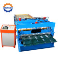 Galvanized Step Roofing Tiles Rolling Forming Machine