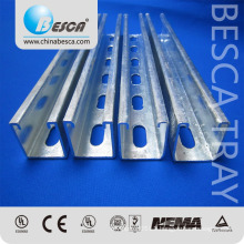 Unistrut OEM Manufacturer in China Slotted C Channel