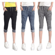 15PKPT05 2014-15 Girls colourful trendy casual jeans linen pants