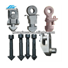 Container spreader spare part lock heads