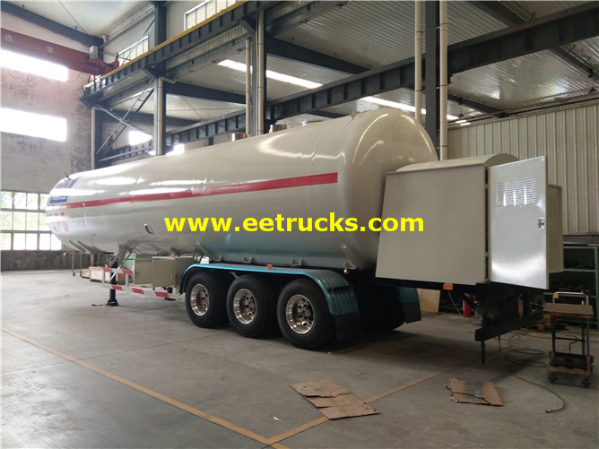 60000 Liters LPG Dispensing Trailers