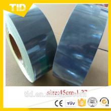 Láminas reflectantes microprismáticas metalizadas para manga de banda y cono