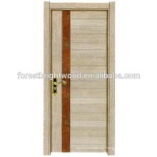 Puerta de Interior contemporáneo del piel puerta de melamina