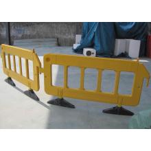 Temporärer Zaun für den Straßenschutz