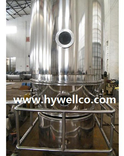 Granulate Material High Efficient Fluidizing Dryer