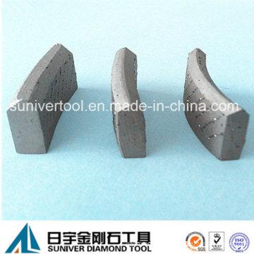 Diamant-Bohrer Kernsegment für armierten Beton (SUCDS)