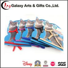 Nylon Großhandelskatzen-Produkt-Katzen-Kragen mit populärer Katzen-Leine