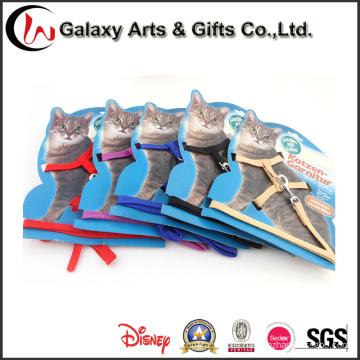Nylon Wholesale Cat Products Cat Collar con correa de gato popular