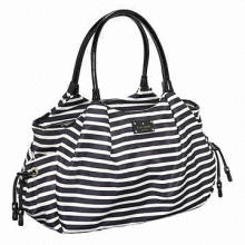 Diaper Bag, Double Handles with 8-inch Drop Length