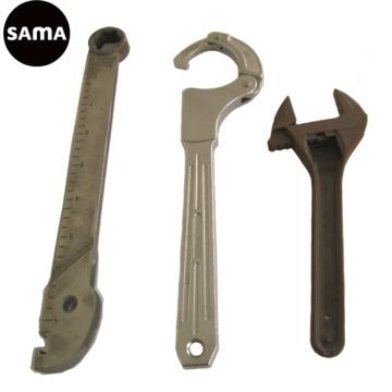 Carbono, liga, carcaça de aço inoxidável da chave inglesa para o hardware