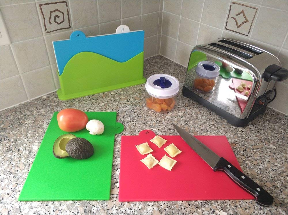 Index Cutting Board Set