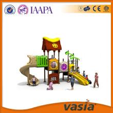 Fun amusement park kids train outdoor playground
