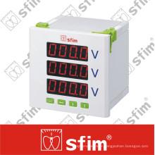Voltmètre numérique programmable triphasé