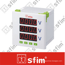 Three Phase Programable Digital Voltmeter