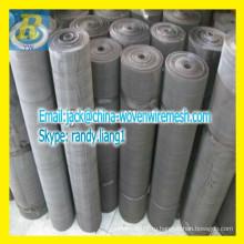 Черный проволока ткань сетка / черный провод ткань фильтр / противомоскитная сетка сетка