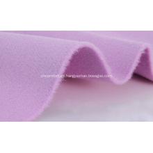tela 100% de lana de doble cara de cachemira