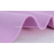 woolen 100% cashmere double face fabric