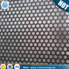 Placas de malla de metal perforado dúplex 2205 de acero inoxidable para red de altavoces