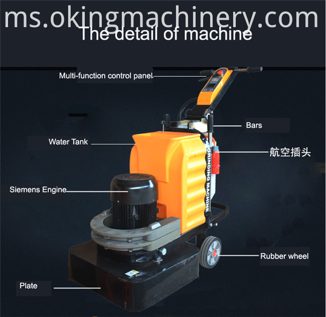 12 Heads Marble Polishing Machine