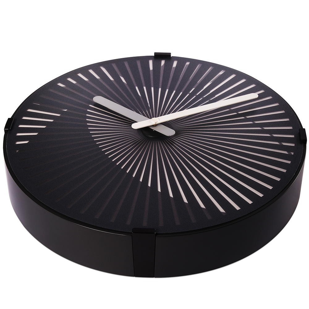 Motion Wall Clock- Tocando el tambor