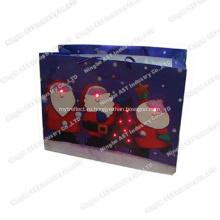 Записываемая подарочная сумка, светодиодная легкая сумка, музыкальная подарочная сумка