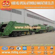 DONGFENG 6x4 16/20 m3 camion de collecte des ordures lourdes moteur diesel 210hp avec mécanisme de pressage